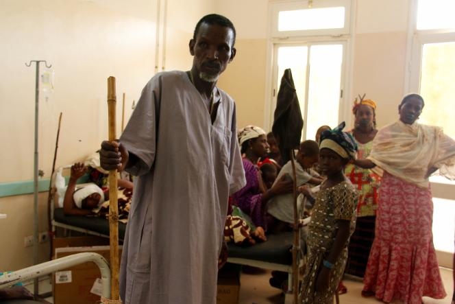 A l'hôpital de Mopti, dans le centre du Mali, en mars 2019.