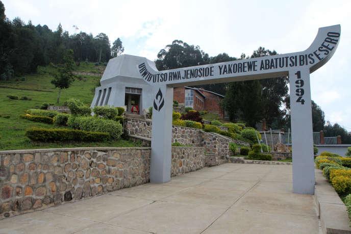 Le mémorial dédié aux victimes des massacres de Bisesero, dans l'ouest du Rwanda, en 2015.