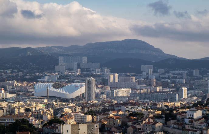 Marseille, vue des quartiers Nord.