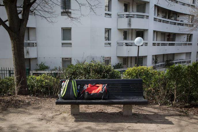 Dans le 20e arrondissement de Paris, le 5 avril.