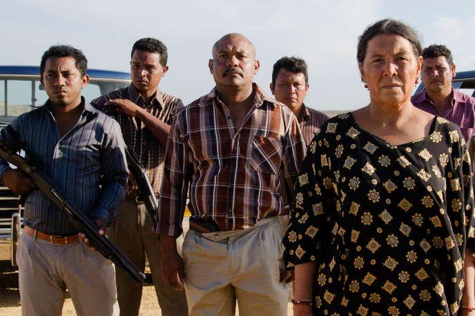 Carmiña Martínez, chef de clan des Indiens wayuu dans«Les Oiseaux de passage», deCristina Gallego et Ciro Guerra.