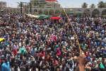 Des manifestants ont convergé vers l'état-major, à Khartoum, ce week-end.
