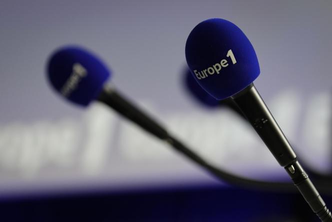 Dans les locaux d'Euope 1, le 20 décembre 2018. La radio est déficitaire et soumise à un plan d'économies.