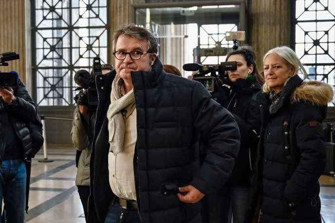 Paul Francois, le 6 février à la cour d'appel de Lyon.