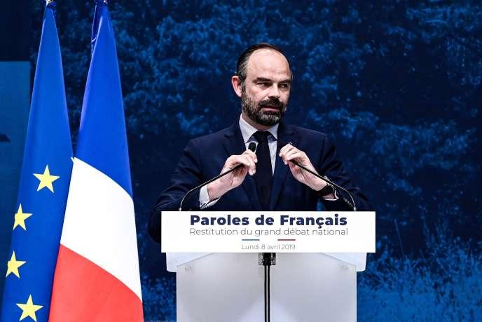 «Si ces résultats semblent contredire le ras-le-bol fiscal des Français, c'est parce que celui-ci est souvent mal compris. En effet, ce ras-le-bol ne concerne pas le niveau agrégé de la fiscalité, mais son injustice» (Edouard Philippe, le 8 avril).