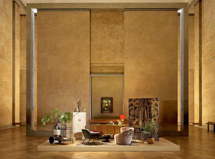 Les gagnants du jeu concours pourront prendre l'apéritif devant« La Joconde» auMusée du Louvre.
