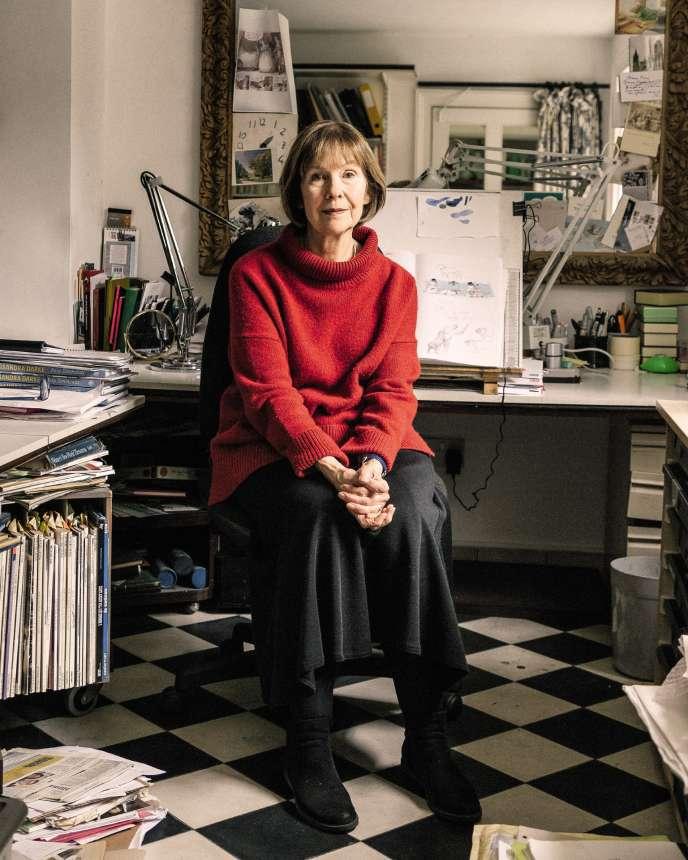 La dessinatrice anglaise Posy Simmonds, à Londres, le 27mars.