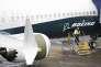Un Boeing 737 MAX 9 le 12 mars sur le tarmac de l'usine Boeing de Washington.