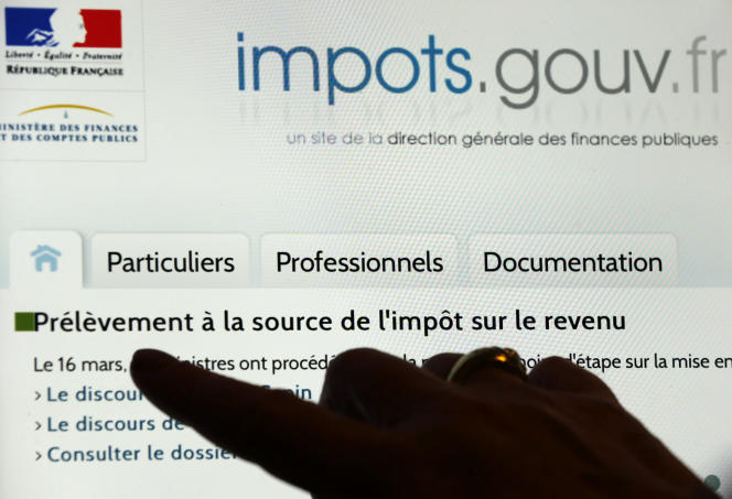 Le site impots.gouv.fr.