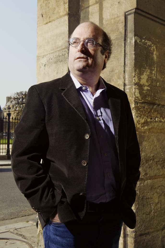 Le journaliste et écrivain américain David Grann à Paris, en mars 2019.