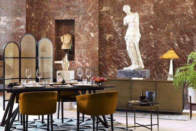 Les gagnants du jeu concours dîneront devant« La Vénus de Milo» au Musée du Louvre.