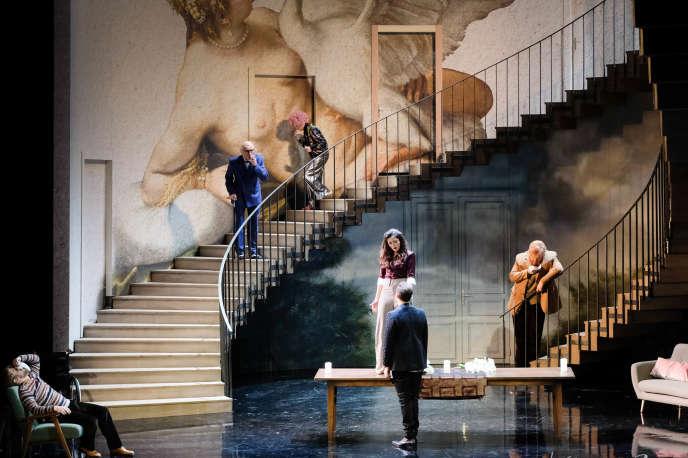 «La Divisione del mondo», de Giovanni Legrenzi dans une mise en scène deJetske Mijnssen à l'Opéra national du Rhin.
