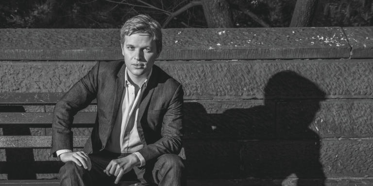 Ronan Farrow, American journalist whose investigative reporting exposed misconduct by Harvey Weinstein, Eric Schneiderman and Les Moonves, in New York, on October 8, 2018.  Farrow is the son of actress/activist Mia Farrow and filmmaker Woody Allen. *** Local Caption *** Ronan Farrow journalist writer portrait COLOR america american lawyer