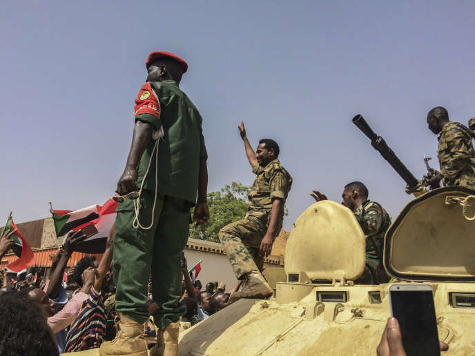 A Khartoum, le 11 avril.
