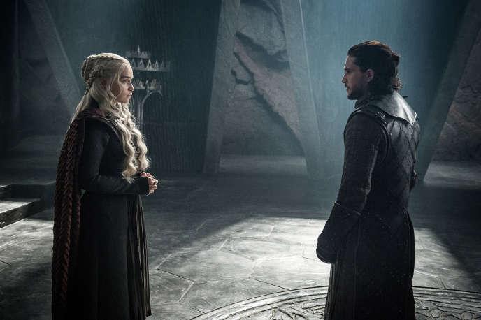 Daenerys Targaryen et Jon Snow.