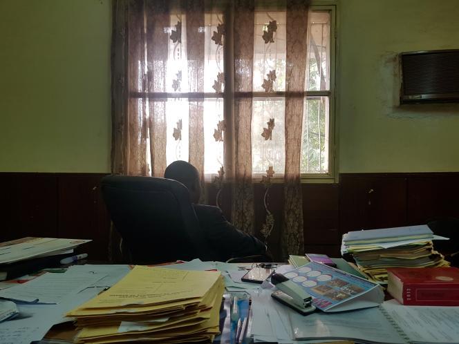 Un magistrat malien dans son bureau, à Bamako, en mars 2019 (photo d'illustration).