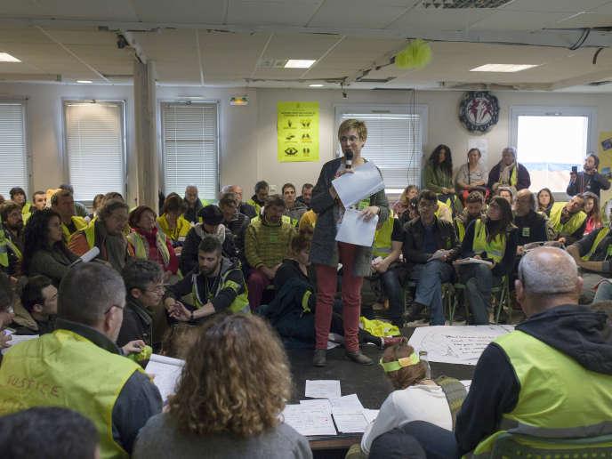 700 représentants de 235 délégations se sont accordés sur un appel commun, le 6 avril, à Saint-Nazaire (Loire-Atlantique).