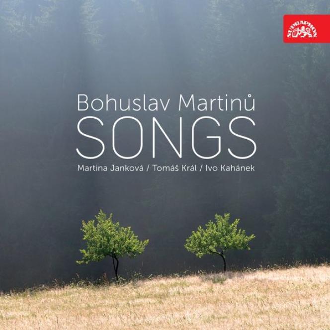 Pochette de l'album«Bohuslav Martinu. Songs».