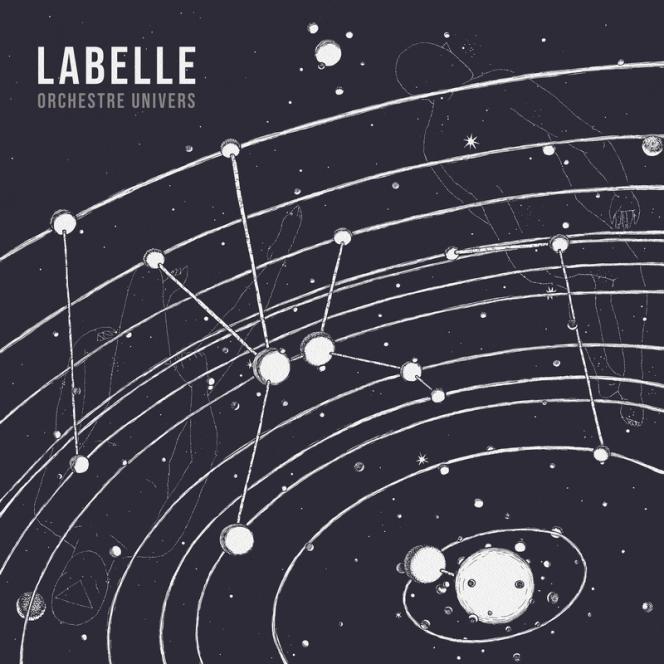 Pochette de l'album« Orchestre Univers», de Labelle.