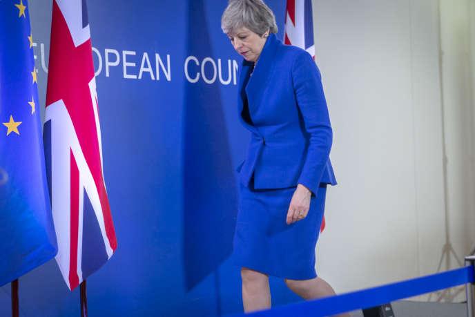« Le premier ministre britannique espère encore faire passer un accord avant le 23 mai afin d'éviter une participation aux élections européennes» (Theresa May à Bruxelles, le 10 avril 2019).