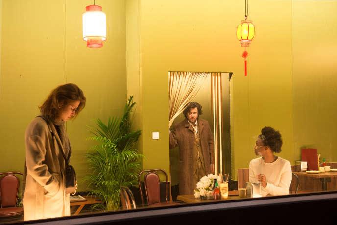 Adèle Exarchopoulos, Eric Caravaca, Alison Valence, dans la « Triologie de la violence» de Simon Stone.