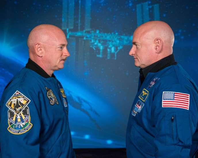 Les astronautes Scott Kelly et Mark Kelly se sont prêtés à l'expérience« Twins Study» menée par la Nasa.