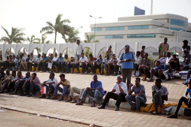 A Khartoum, le 12 avril.