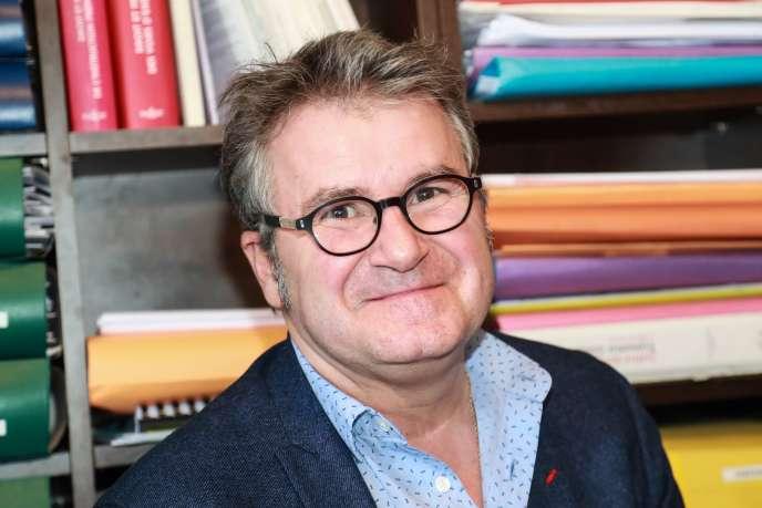 Le céréalier Paul François, à Paris, le 11 avril.
