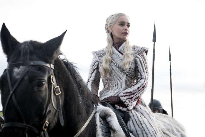 Daenerys Targaryen (Emilia Clarke), un des personnages principaux de la série«Game of Thrones».