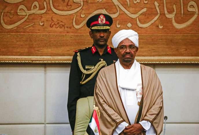 Le président du Soudan Omar Al-Bashir le 14 mars à Khartoum.