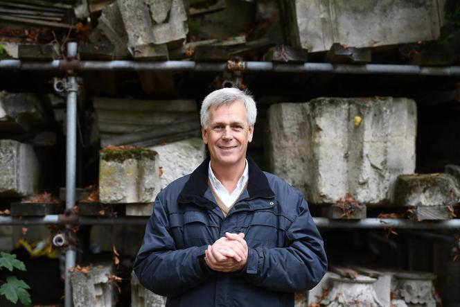 Jacques Moulin, architecte en chef des Monuments historiques, ici en 2016.