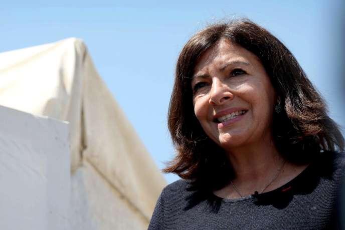 La maire de Paris, Anne Hidalgo, le 12 avril.