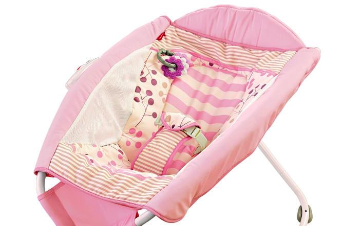 Le modèle de transat pour bébé «Rock'n Play Sleeper» rappelé par la marque Fisher-Price.
