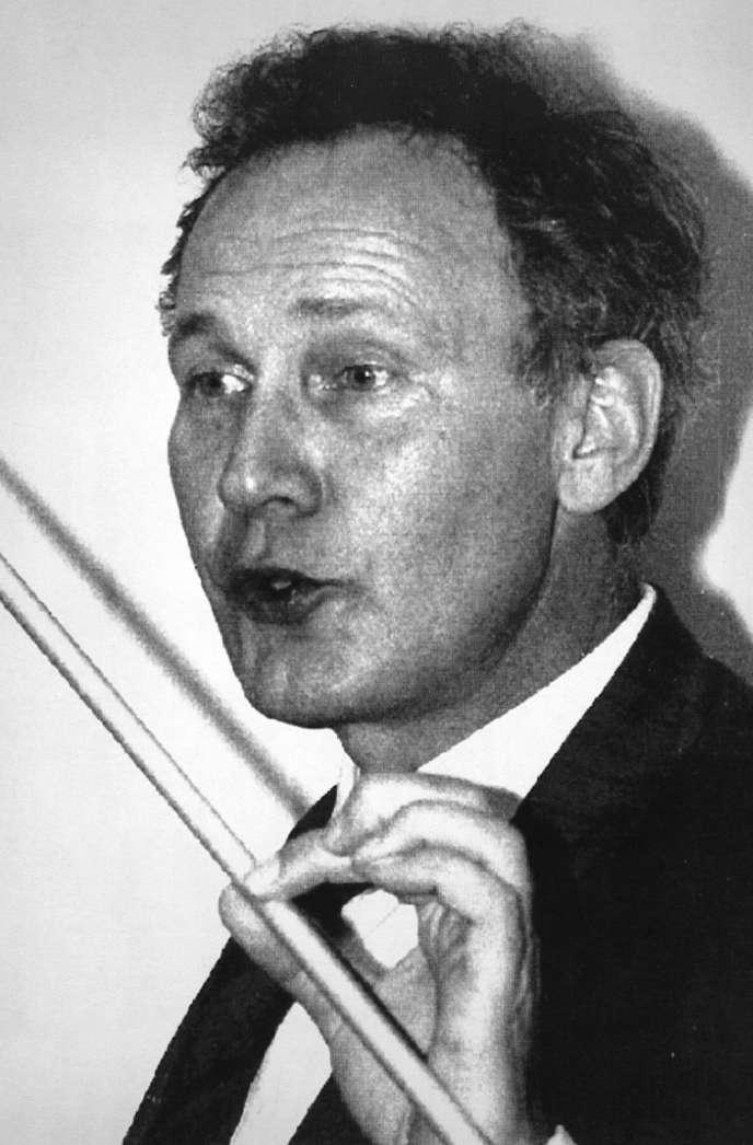 Le biologiste Dominique Stéhelin en 1988.