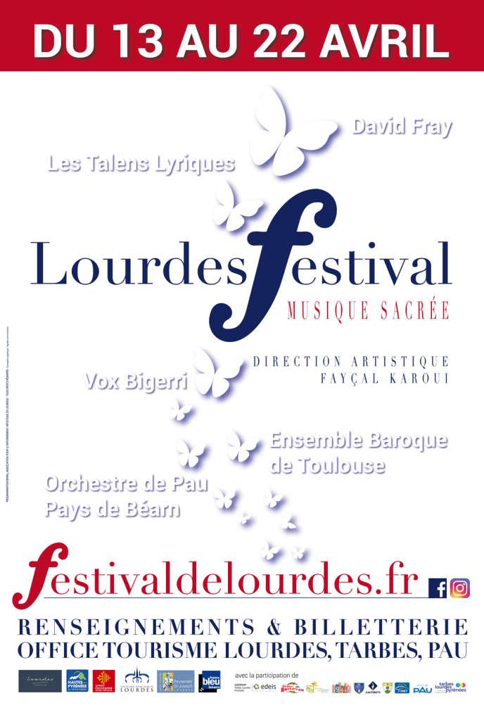 Le festival de musique sacrée de Lourdes (Hautes-Pyrénées) se tient du 13 au 22 avril au Sanctuaire Basilique du Rosaire, aux Grottes de Bétharram.