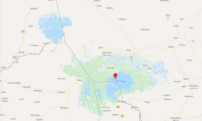 La zone du lac Tchad s'étend sur trois pays : Tchad, Nigeria et Cameroun.