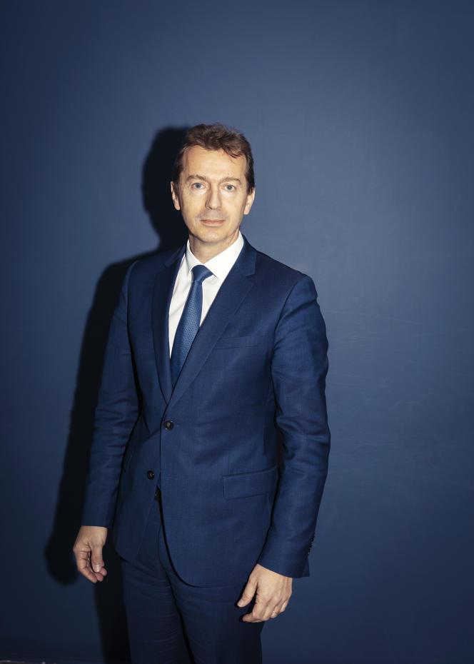 Guillaume Faury, le nouveau président exécutif d'Airbus, à Paris, le 12 avril.