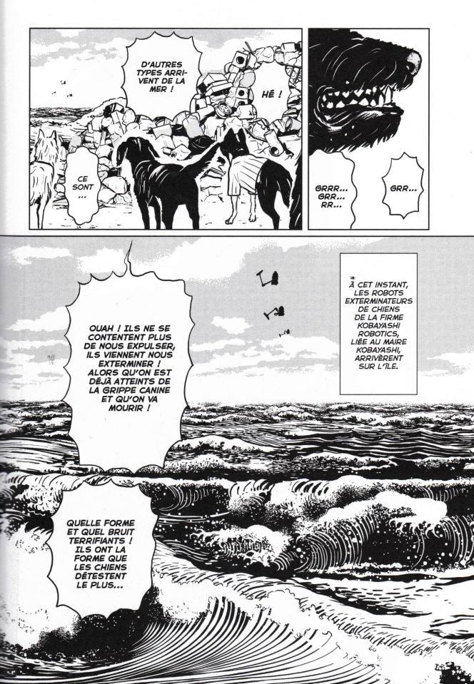 Le dessinateur Minetaro Mochizuki voulait« absolument adapter le travail de Wes Anderson», mais« savait qu'il serait très difficile de le faire».