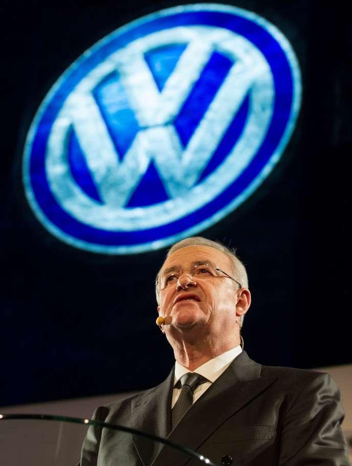 Volkswagen a indiqué en 2016 que Martin Winterkorn avait été mis au courant par un «mémo » daté de mai 2014 d'irrégularités sur les niveaux d'émissions aux Etats-Unis.
