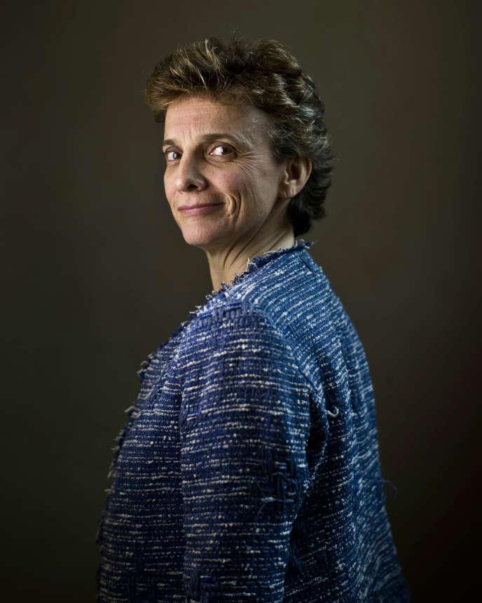 Marie-Laure Denis, présidente du CNIL, dans les locaux de la Commission, à Paris, le 7 avril.