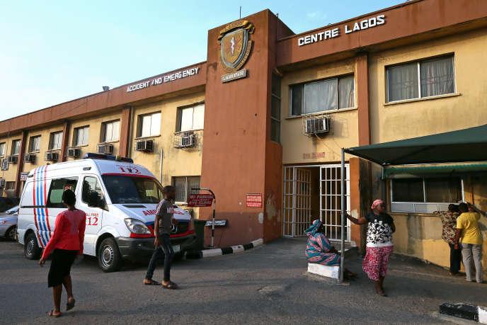Un hôpital de Lagos, au Nigeria, en mars 2019.