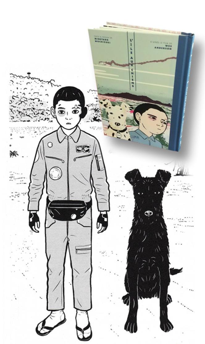 La version manga de «L'Île aux chiens»,de Minetaro Mochizuki, estparue en avril2018.