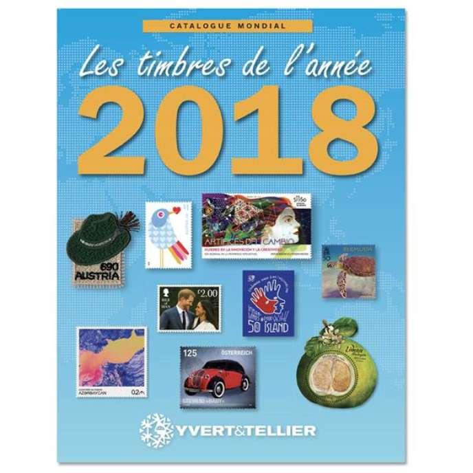 « Catalogue mondial. Les timbres de l'année 2018 », Yvert et Tellier, 468 pages, 29,90 euros.
