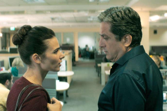 Liron Ben-Shlush etMenashe Noy dans« Working Woman», deMichal Aviad.