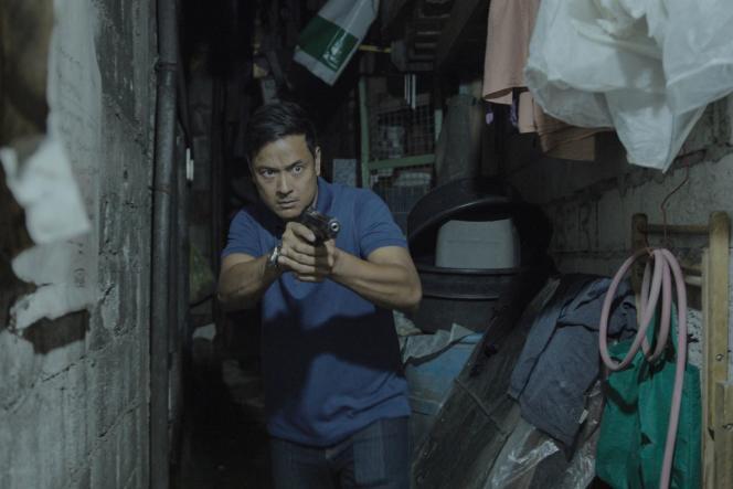 Allen Dizon dans«Alpha. The Right to Kill », film philippin de Brillante Mendoza.