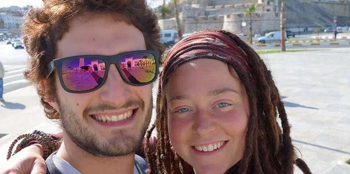 L'Italien Luca Tacchetto et la Canadienne québéquoise Edith Blais (photo tirée du compte Facebook consacré à leur disparition par leurs proches).