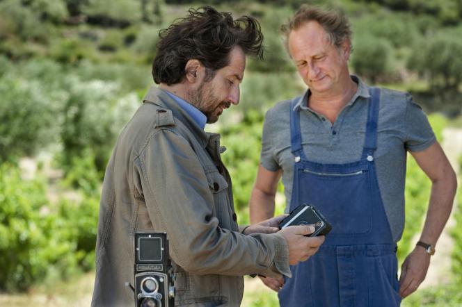 Hervé Figougne (Edouard Baer) etRaoul Taburin (Benoît Poelvoorde) dans le film dePhilippe Godeau.