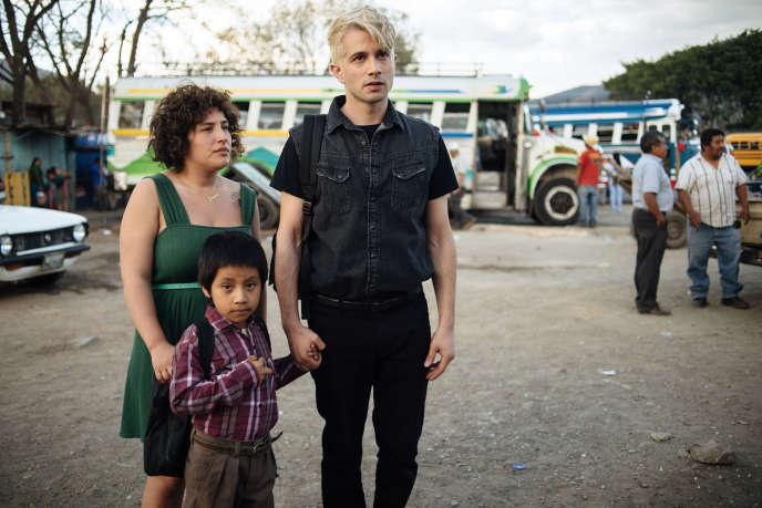Aviv Karmi, Miguelito Sojuel et Ran Danker dans« Miguel», deTom Salama et Daphna Levin.