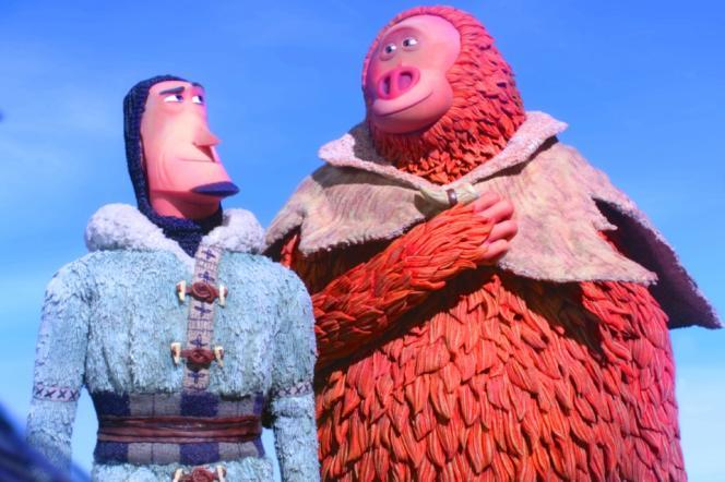 Sir Lionel Frost (à gauche) et Monsieur Link.