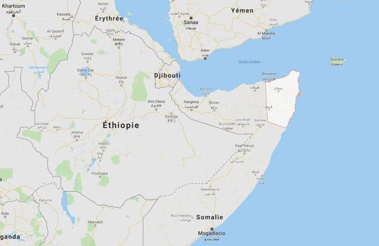 La région de Bari, en Somalie, où a été tué le commandant de l'Etat islamique par l'Africom, le 14 avril 2019.